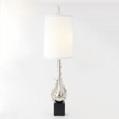 Twig Bulb Floor Lamp - Nickel