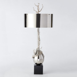 Twig Bulb Lamp - Nickel