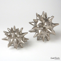 Urchin - Matte Silver - Lg