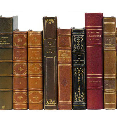 French Leather-Bound