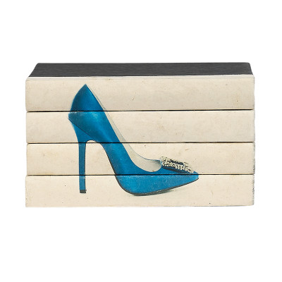 Hot Heels 4 Volume Stack - Blue Satin