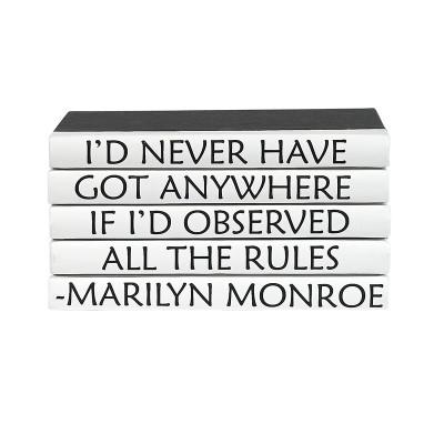 5 Vol Quotes - Marilyn