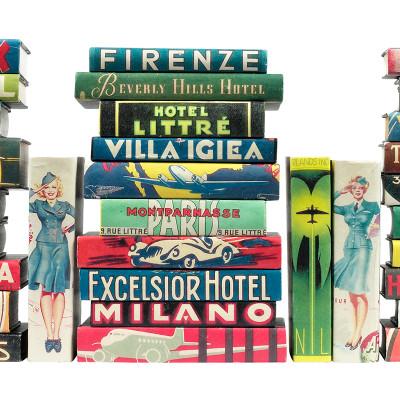 Vintage Hotel Labels - Second Series