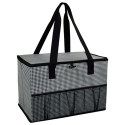 Collapsible Home & Trunk Organizer - Houndstooth image 1