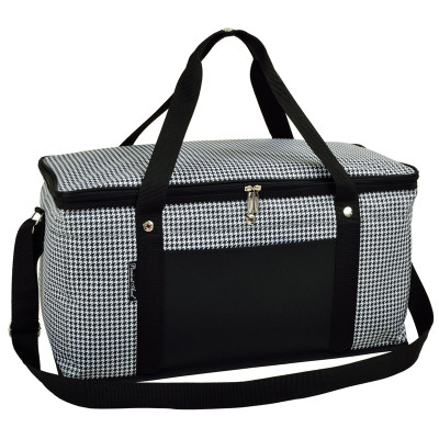 Folding 72 Can Cooler - Houndstooth image 1