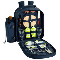 Two Person Picnic Backpack - Trellis Green image 1