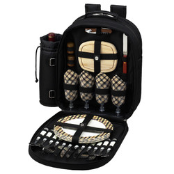 Four Person Picnic Backpack - London image 1