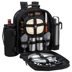 Two Person Coffee Backpack - Black image 1