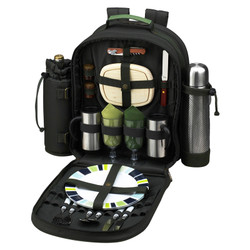 Two Person Coffee Backpack - Forest Green image 1