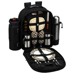 Two Person Coffee Backpack - London image 1