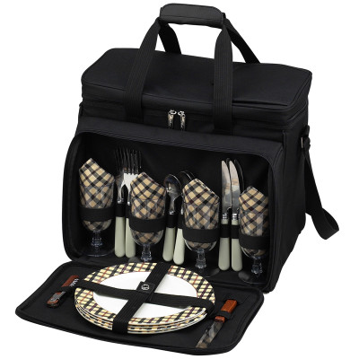 Deluxe Picnic Cooler for Four - London image 1