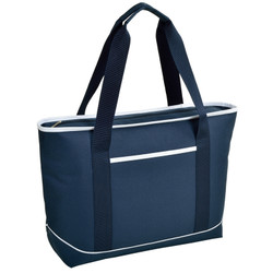 Large Insulated Cooler Tote - Navy image 1