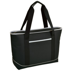 Large Insulated Cooler Tote - Black image 1