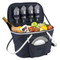 Collapsible Insulated Picnic Basket for 4 - Navy image 1