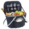 Collapsible Insulated Picnic Basket for Two - Navy image 1