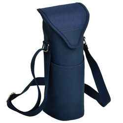 Single Bottle Cooler Tote - Navy image 1