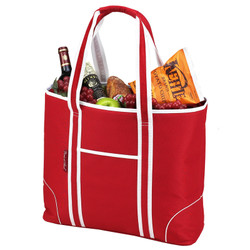 Extra Large Insulated Cooler Tote - Red image 1