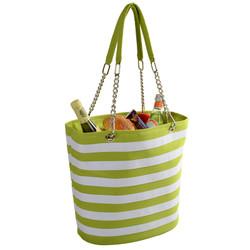 Fashion Cooler Tote - Apple Stripe image 1