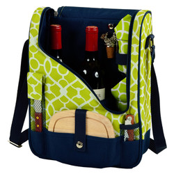 Wine & Cheese Cooler - Trellis Green image 1