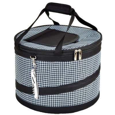 Collapsible Party Tub - 24 Can - Houndstooth image 1