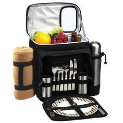 Picnic Cooler for Two with Blanket & Coffee Service - London image 1