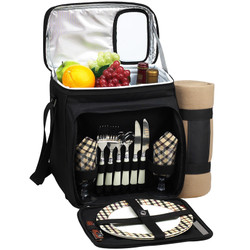 Picnic Cooler for Two with Blanket - London image 1