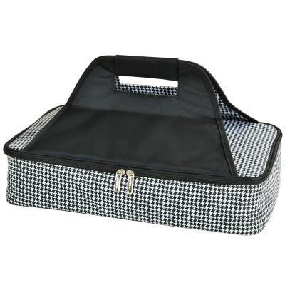 Thermal Food Carrier - Houndstooth image 1