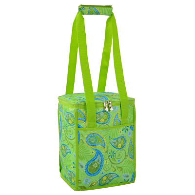 Collapsible Cooler - Paisley Green image 1