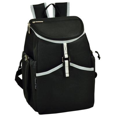 Cooler Backpack - 22 Can Capacity - Black image 1