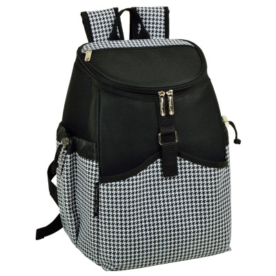 Cooler Backpack - 22 Can Capacity - Houndstooth image 1
