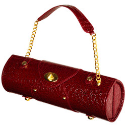 Wine Carrier & Purse - Burgundy image 1
