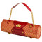 Wine Carrier & Purse - Gold/Red image 1