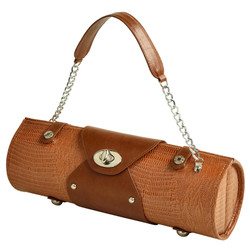Wine Carrier & Purse - Lizard image 1