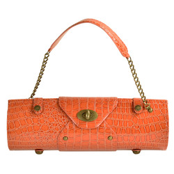 Wine Carrier & Purse - Orange image 1