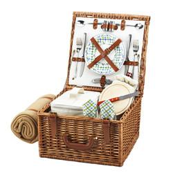 Cheshire Picnic Basket for Two with Blanket - Gazebo image 1