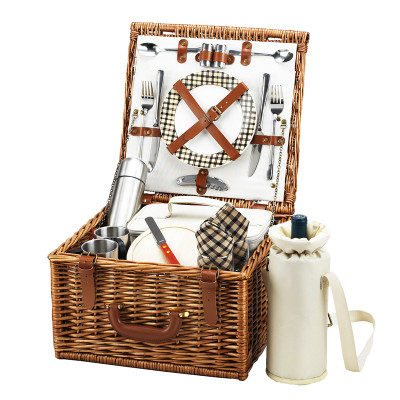 Cheshire Basket for 2 w/coffee service - London image 1