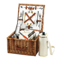 Cheshire Basket for 2 w/coffee service - Santa Cruz image 1