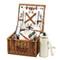 Cheshire Basket for 2 w/coffee service - Santa Cruz image 1