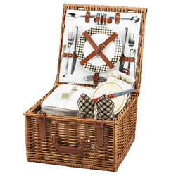 Cheshire Picnic Basket for Two - London image 1