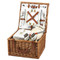 Cheshire Picnic Basket forTwo - Santa Cruz image 1