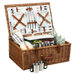 Dorset Basket for 4 w/coffee service - Gazebo image 1