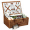 Dorset Basket for 4 w/coffee service - Gazebo image 1