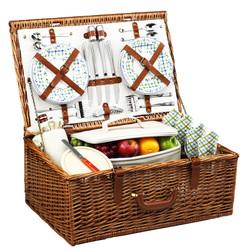 Dorset Picnic Basket for Four - Gazebo image 1