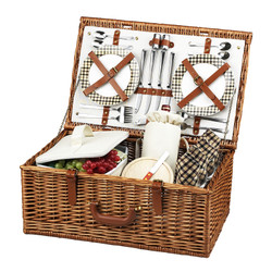 Dorset Picnic Basket for Four - London image 1