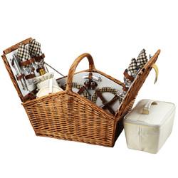 Huntsman Picnic Basket for Four - London image 1