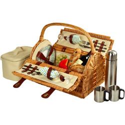 Sussex Picnic Basket for 2 w/Coffee - Gazebo image 1