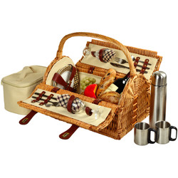 Sussex Picnic Basket for 2 w/Coffee - London image 1