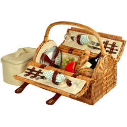 Sussex Picnic Basket for Two - Gazebo image 1
