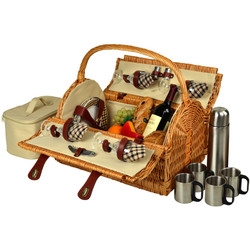 Yorkshire Picnic Basket for 4 w/Coffee - London image 1