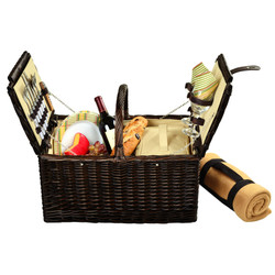 Surrey Picnic Basket for Two with Blanket - Hamptons image 1